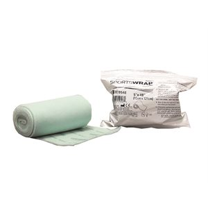 "SportsWrap Non-Adhesive Dressing - 5"" x 48"" Roll (Single)"